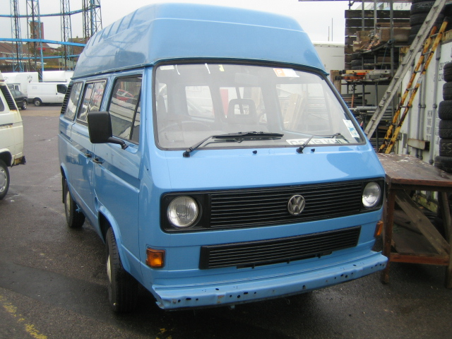 VW Factory Fitted Hightop Campervan Vw Campers